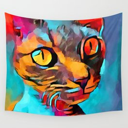 Devon Rex Wall Tapestry