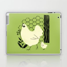 Hen and chick Laptop & iPad Skin