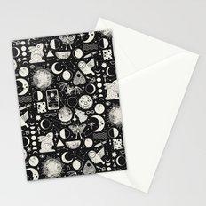 Lunar Pattern: Eclipse Stationery Cards