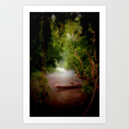 Mystic Creek Art Print