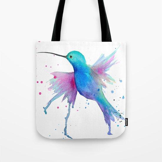 Hummingbird watercolor  Tote Bag