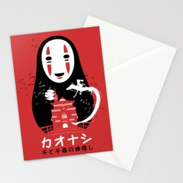 Mask Not face Stationery Cards