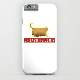 Chonk Cat Meme iPhone Case