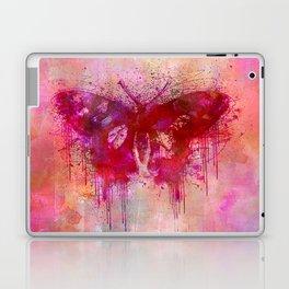 Artsy butterfly watercolor lllustration Laptop & iPad Skin