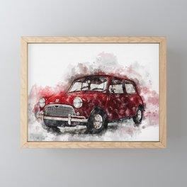 Austin Seven Framed Mini Art Print