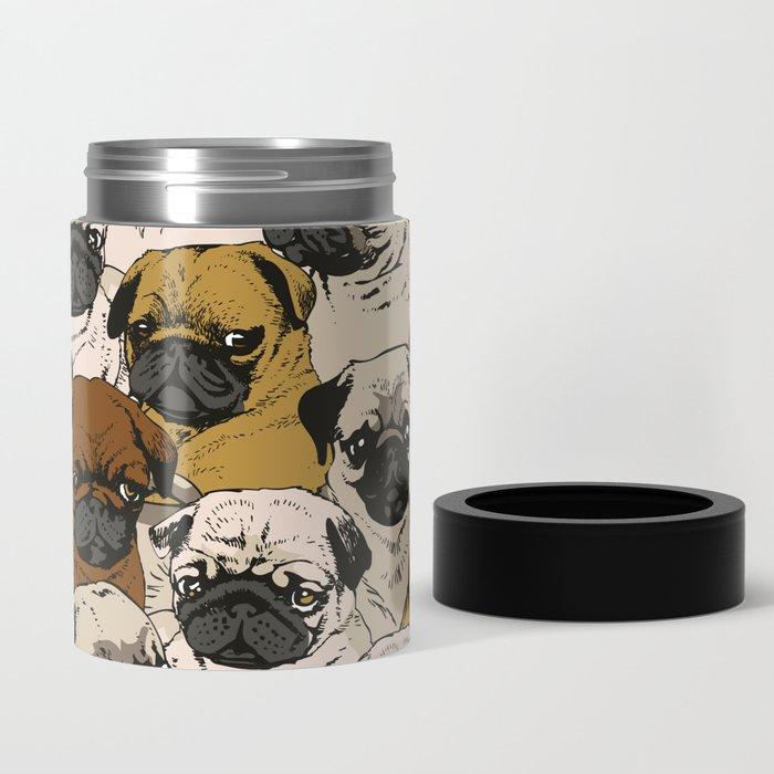 Social Pugs Can Cooler