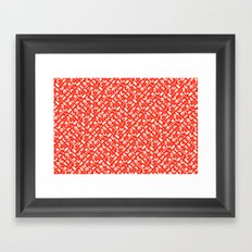 Control Your Game - Tangerine Framed Art Print
