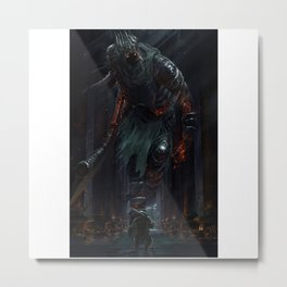 Yhorm the Giant Metal Print