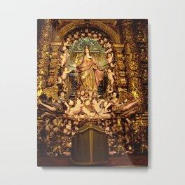 MARY AND CHILDREN - LISBON Metal Print