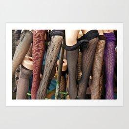 Mannequin Legs Art Print