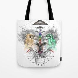 Zodiac Strings Tote Bag