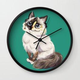 Ragdoll Wall Clock