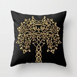 🍁 GOLDEN TREE 🍁 Throw Pillow