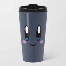 Kirby Face (Dark) Travel Mug
