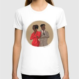 Maxine Shaw and Kyle Barker / Living Single T-shirt
