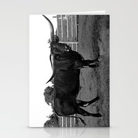 bull Stationery Cards featuring Bull by vogel