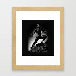 wakanda panther Framed Art Print