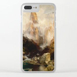 Thomas Moran - Mist in Kanab Canyon, Utah, 1892 Clear iPhone Case