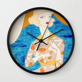 The Goldfish Keeper Wall Clock