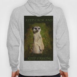 I am a model - a meerkat Hoody