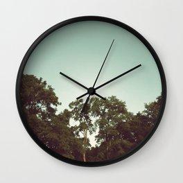 the trees Wall Clock