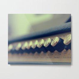 Amp Metal Print