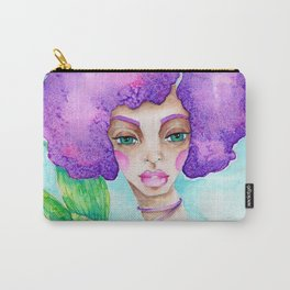 JennyMannoArt Watercolor Illustration/Mermaid Jenny Manno Carry-All Pouch