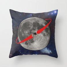 Lunar Lander Throw Pillow