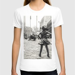 Fearless Girl & Bull - NYC T-shirt