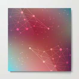 Abstract Background 14 Metal Print