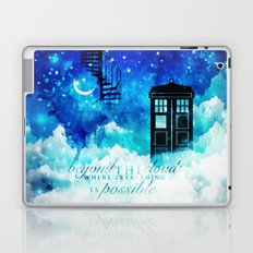 Beyond the clouds | Doctor Who Laptop & iPad Skin