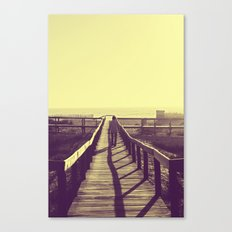 Man walking Canvas Print