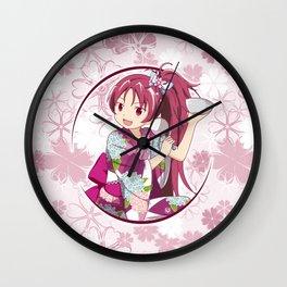 Kyoko Sakura - Yukata edit. (rev. 1) Wall Clock