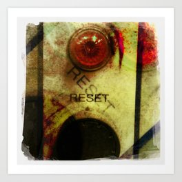 reset Art Print