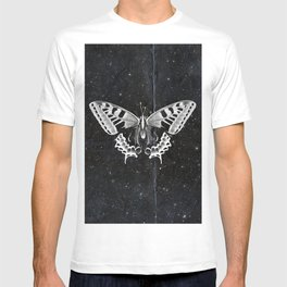 Butterfly in the stars T-shirt