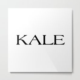 Kale Metal Print