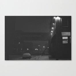Minneapolis Snow Canvas Print
