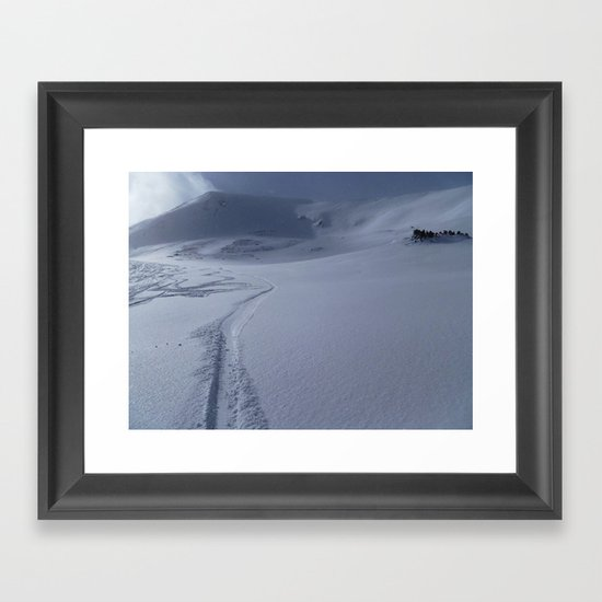 Loveland Pass Framed Art Print