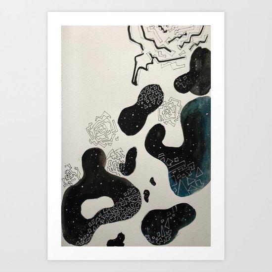 gaudi Art Print