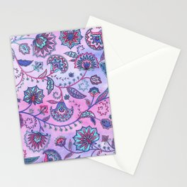 Persian Flowers Stationery Cards