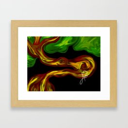 Arbol 002 Framed Art Print