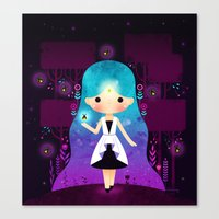firefly Canvas Prints featuring Firefly by Luli Bunny