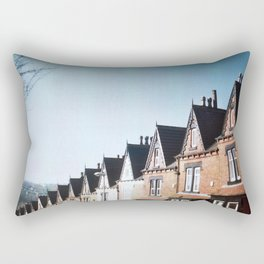 Terrace Houses Rectangular Pillow