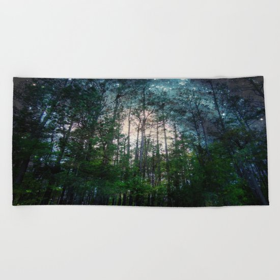 Mystic Forest Beach Towel