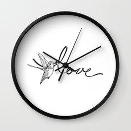 Love String Wall Clock