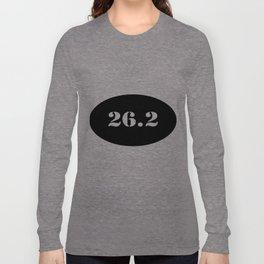 Marathon Bumper Sticker Long Sleeve T-shirt