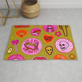 Patch Print Rug