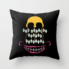 Mad Hatters Throw Pillow