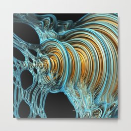 Accumulation Metal Print