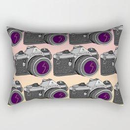 Pentax Pattern Rectangular Pillow